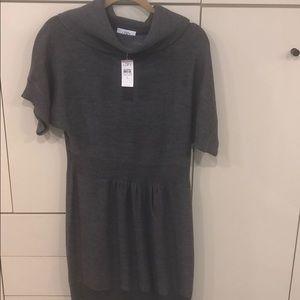 NWT Ann Taylor loft sweater dress Sz L